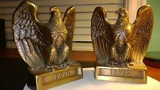 Pair of AMERICAN BALD EAGLE 1776 Bookends by Philadelphia Mfg. Co.