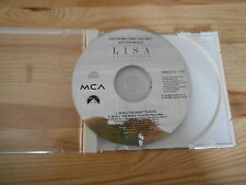 CD Pop Lisa Stansfield - In All T Right Places (2 Song) Promo BMG MCA disc only