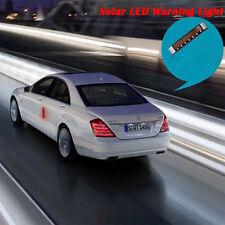 NEW Wireless Car Solar 7 LED Strobe Warning Lights Flash Emergency Side Signal