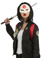 DC Comics Suicide Squad Katana Adult Polyurethane Mask Costume Cosplay NWT!