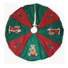 Weihnachtsbaumdecke Cristbaumdecke Baumdecke Weihnachten Geschenkidee Schnee