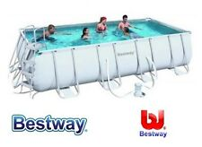 PISCINA BESTWAY FUORITERRA 488X274X122H RETTANGOLARE FULL OPTIONAL POMPA SCALA