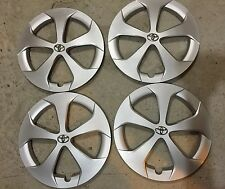 "SET of 4  61167 NEW Toyota PRIUS 15"" Hubcaps Wheel Covers  2011 12 13 14 15"