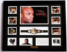 New Anderson Silva Limited Edition Memorabilia Framed