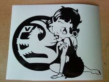 Betty Boop vauxhall girls sexy vinyl car sticker novelty fun decals graphics sri