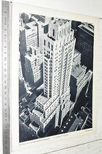 PHOTO ECOLE 1954 GEOGRAPHIE USA GRATTE-CIEL A NEW-YORK