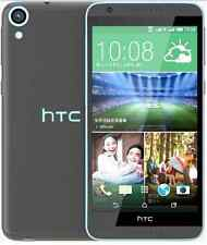 "Dual card Unlocked HTC Desire 820 -5.5"" 16GB Android Cellphone Black-Blue Border"