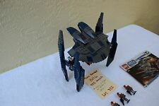 LEGO Star Wars The Clone Wars Hyena Droid Bomber (8016) 99.9 % complete lot 332
