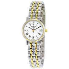 Tissot T-Sport Silver Dial Two Tone Stainless Steel Ladies Watch T52228113