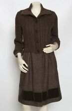 ETRO Milano Neiman Marcus Women Brown Knit Jacket Coat 38 Pristine Gorgeous