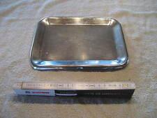 Edelstahl Verkaufsschale Schale Gastro Tablett ca 24 x 18 x 1cm Servierplatte 94