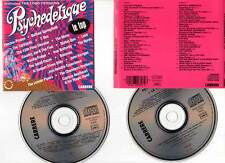 "PSYCHEDELIQUE ""Le Top"" (2 CD) 1991 - Hendrix,Donovan,Yardbirds,Procol Harum..."