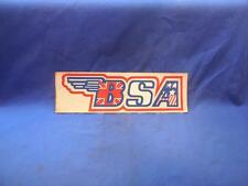 BSA US Flag /  British Flag Vintage Decal NOS  NP7217