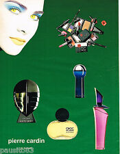 PUBLICITE ADVERTISING 065  1994  Les parfums & maquillages  PIERRE CARDIN