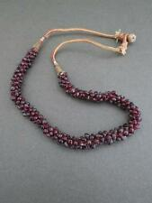 Vintage Art Deco Garnet Necklace