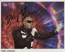 Holly Johnson (Singer) FGTH Signed 8 x 10 Photo Genuine In Person