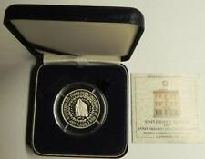 GN513 - Italien 5000 Lire 1993 PROOF Silber KM#170 Università di Pisa Orig. Box