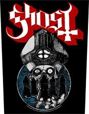 GHOST - PAPA WARRIORS - BACK PATCH - BRAND NEW - MUSIC BAND 1002