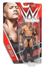THE ROCK BASIC 65 WWE MATTEL ACTION FIGURE TOY BRAND NEW - PACKAGE DAMAGED