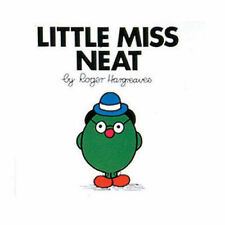 NEW (3)  LITTLE MISS NEAT ( BUY 5 GET 1 FREE book )  Mr Men