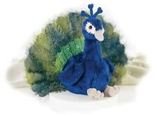 Perry Peacock Realistic Soft Plush Toy by Aurora Babies