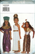 Butterick 3586 Egyptian Cleopatra Princess Nile Royalty Costume Pattern UNCUT FF