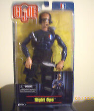 "GI Joe 12"" 2001 NIGHT OPS Figure"