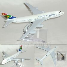 South African Airways Boeing 747 Airplane 16cm DieCast Plane Model