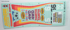 New Tamiya Big Wig 2017 47330 Part from The Rerelease Kit - Sticker Set 9494185