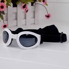 White DOG & Cat Sunglasses / Eye protection - White or Pink - #1 PET GIFT