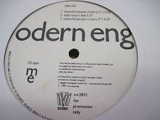 "LOT OF 4 - 1980's New Wave 12"" Modern English, The Minutemen ++  Near Mint 6 i"