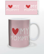 I HEART MY MOMMY 11 OZ COFFEE MUG TEA CUP LOVE PARENT MOTHERSDAY GIFT PRESENT!!!