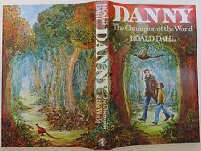 ROALD DAHL Danny the Champion of the World INSCRIBED FIRST EDITION