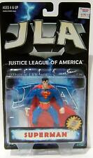 DC Hasbro JLA Justice League Of America Superman Action Figure Mint On Card