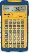 New Calculated Industries ElectriCalc Pro Model 5070 with Armadillo Case