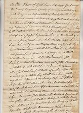 1818 MONTGOMERY NY LAST WILL OF ANDREW GRAHAM LEAVES NEGRO GIRL PEG TO WIFE