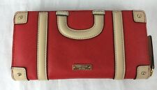 NWT Kate Spade Go Fly A Kite Luggage Lacey Wallet Cherry Liqueur Red Clutch
