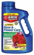 (6) Bayer 701100A 5 lb Systemic 2 In 1 Rose & Flower Care Insect Control + Food