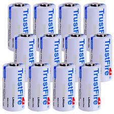 12Pcs Trustfire 1400mAh SF123 CR123A 3V Non-recharge Disposable Lithium Battery