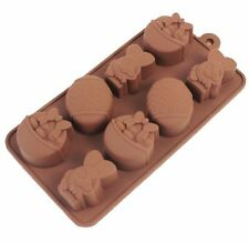 Easter Bunny Rabbit Egg Silicone Chocolate Cookie Ice Jelly Silicone Mould Mold