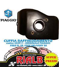 CUFFIA TESTA CILINDRO 433911 ORIGINALE PIAGGIO per FREE FL 50 dal 1995 al 2002