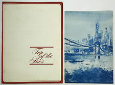 1960's Vintage Menu Lot Stouffer's TOP OF THE SIXS Restaurant Manhattan New York