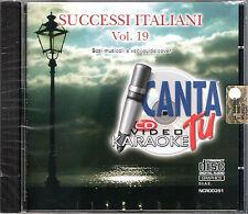 CANTA TU - ORIGINALE -Grandi successi Italiani vol.19 - NCR 391