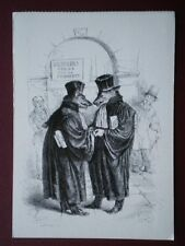 POSTCARD SOCIAL HISTORY GRANDVILLE - DOG DOESN'T EAT DOG FROM CENT PROVERBS 1844