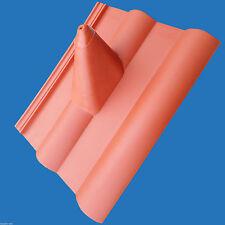Frankfurter Pfanne Dachziegel Dachpfanne Dachabdeckung Sat rot Mast Durchführung