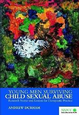 Young Men Surviving Child Sexual Abuse: Research Stories and Lessons f-ExLibrary