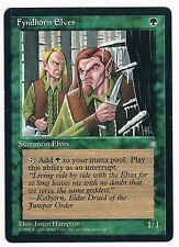 MTG. Magic the Gathering. Fyndhorn Elves. Played. Ice Age.