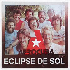 AFROCUBA Eclipse de sol afro cuban latin jazz fusion cuba 1988 areito LD 4458 LP
