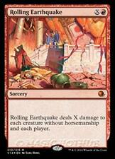 Foil ROLLING EARTHQUAKE From the Vault: Annihilation MTG Red Sorcery RARE