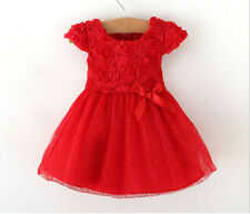 PartyWear Kids Girl rose flower Net embroidered Dress NIKSIM FASHION